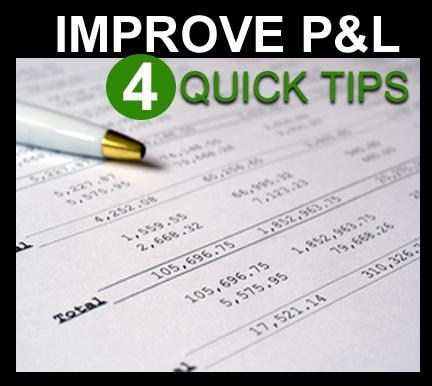 P&L Statement Tips - Improve P&L Statement