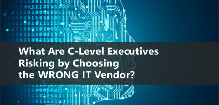 What Are C-Level Executives Risking by Choosing the WRONG IT Vendor?